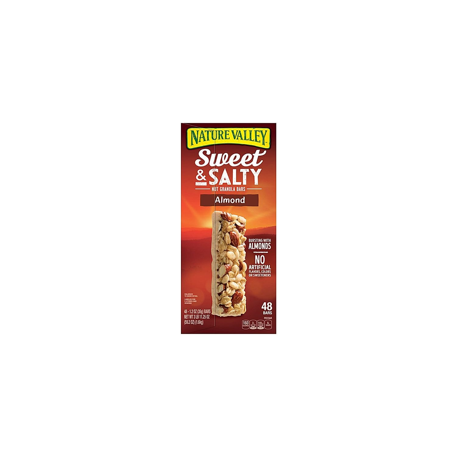 Nature Valley Sweet & Salty Almond Bar (1.2 oz. bars, 48 ct.) (pack of 2)