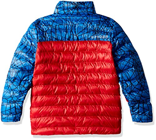 Outerwear Spyder Coat Marvel Sports Active Spiderman Prymo French Boy's Blue CRZfwq
