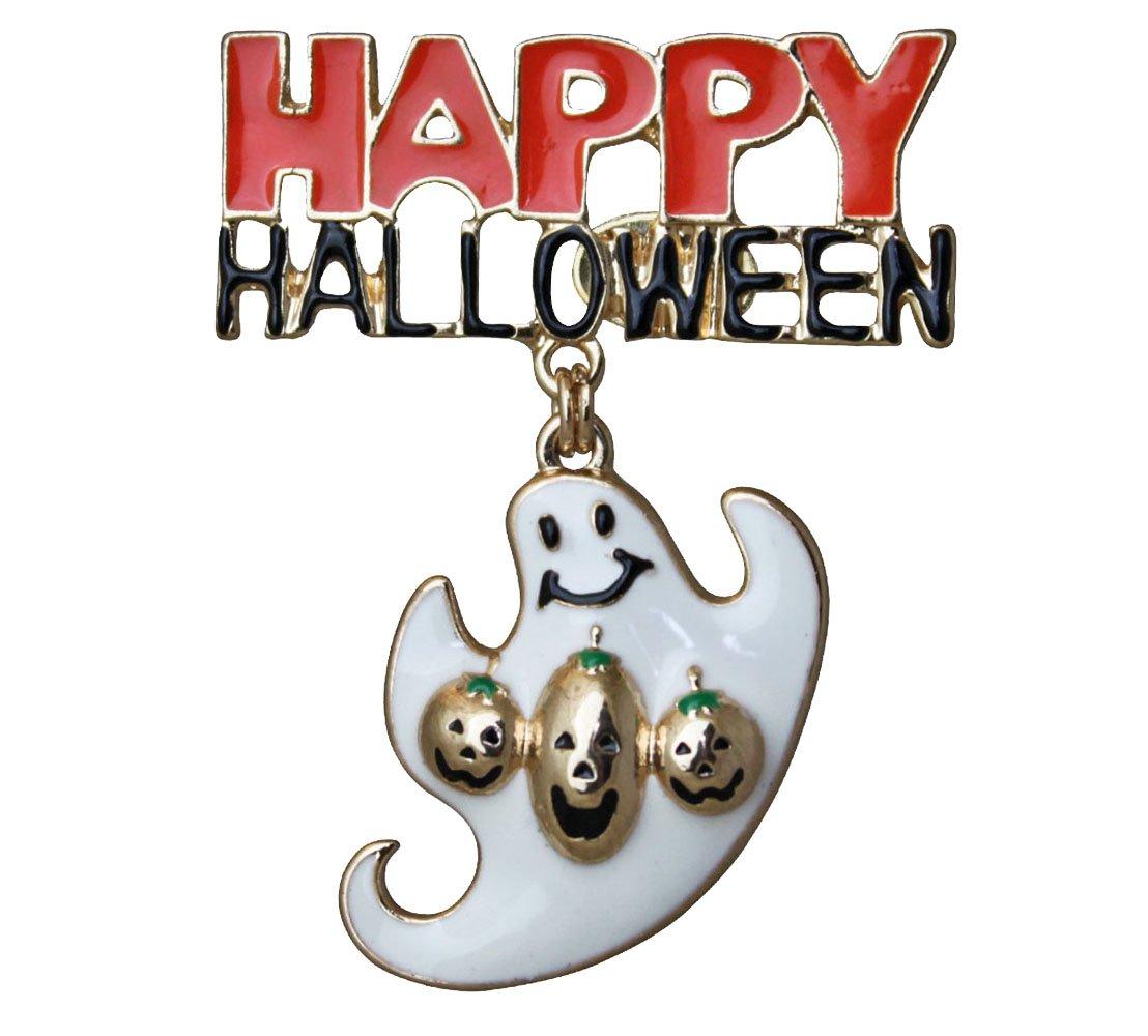 Kirks Folly Happy Halloween Ghost PIN