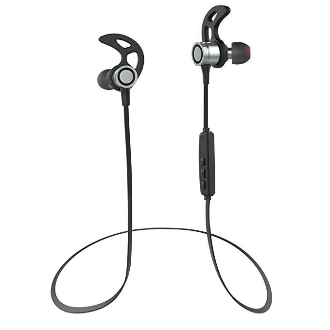HiCool T7 Bluetooth Headphones, Wireless 4.1 In-Ear Earbuds Magnetic Sport Stereo Earphones with