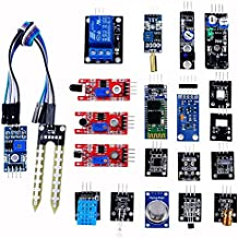 OSOYOO Sensor Kit Modules Starter DIY for Arduino UNO R3 Mega2560 Nano Raspberry Pi Learning Package