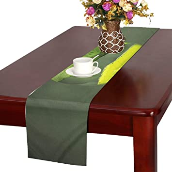 Apple Green Fruit Art Fresh Food 1172060 Table Runner Kitchen Dining