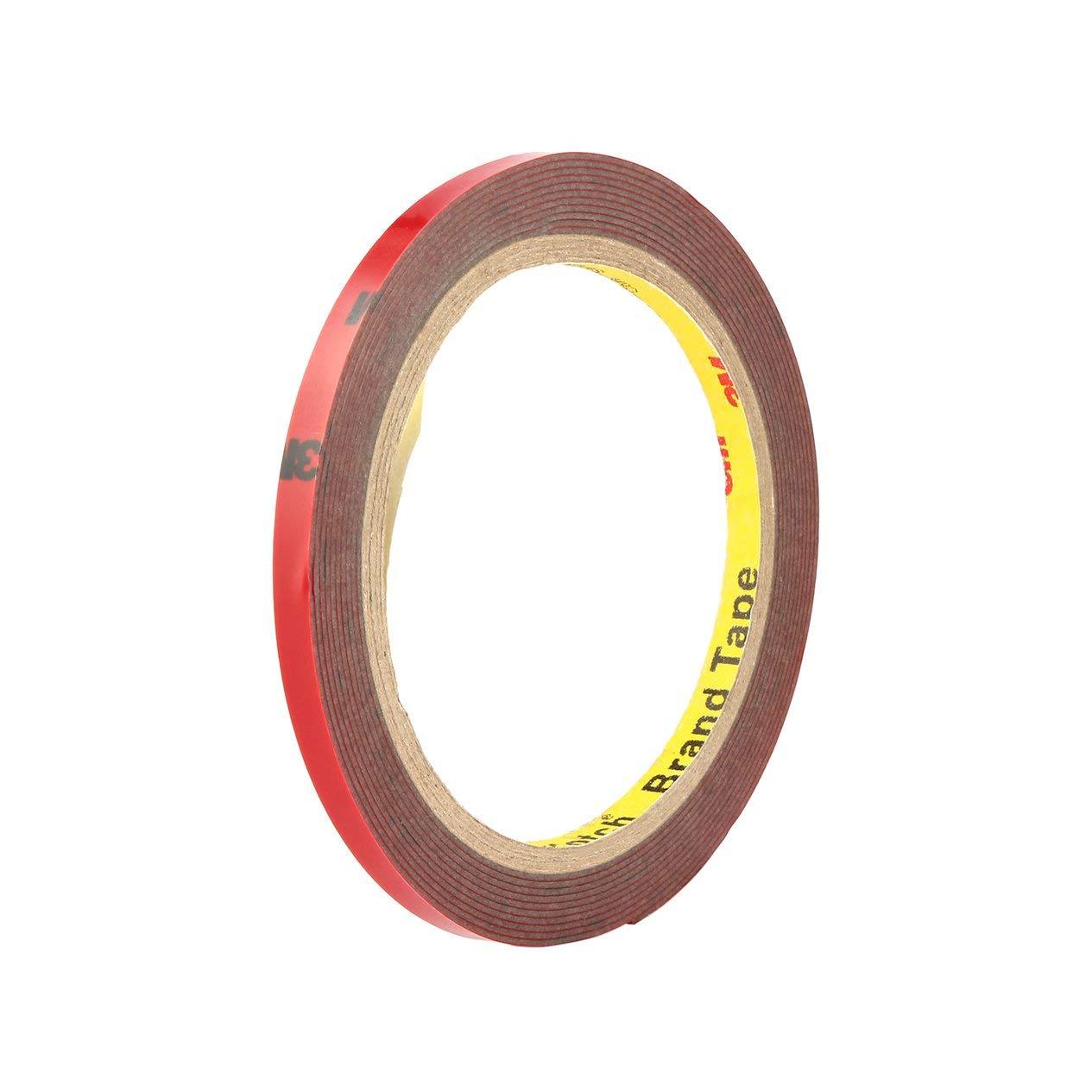 facile da applicare Nastro biadesivo 3M per auto EdBerk74 in schiuma acrilica 6 mm x 3 m