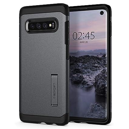 Spigen Tough Armor Designed for Samsung Galaxy S10 Case (2019) - Graphite Gray