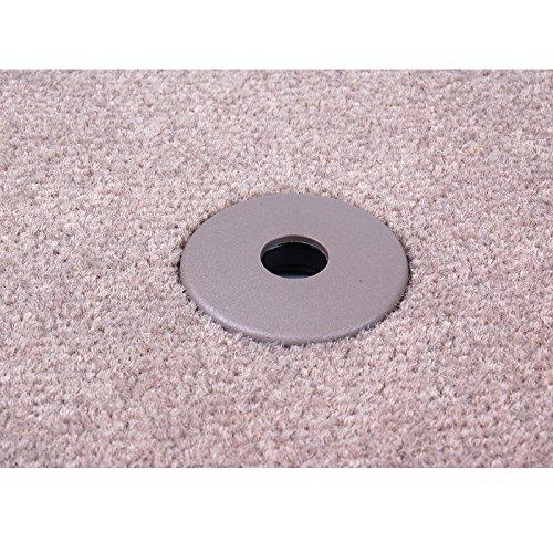AUDI Genuine 4B0061221ED2LP Rear Premium Textile Floor Mat