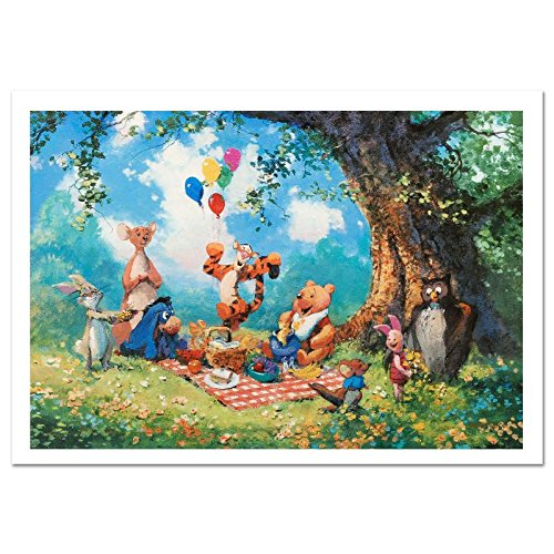 "Disney ""Splendiferous Picnic"" Signed Limited Edition by James Coleman with Certificate of Authenticity!"