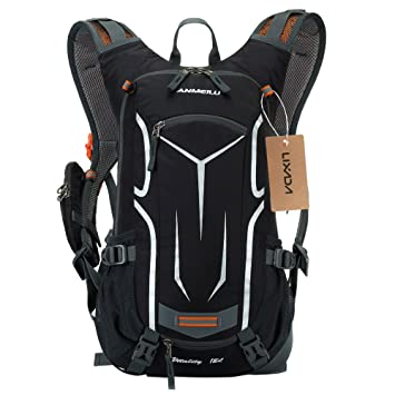 fe860c5fab46c5 Cycling Rucksack , Waterproof Bike Backpack Breathable and Lightweight  Running Backpack with 2L Bladder Hydration Backpack