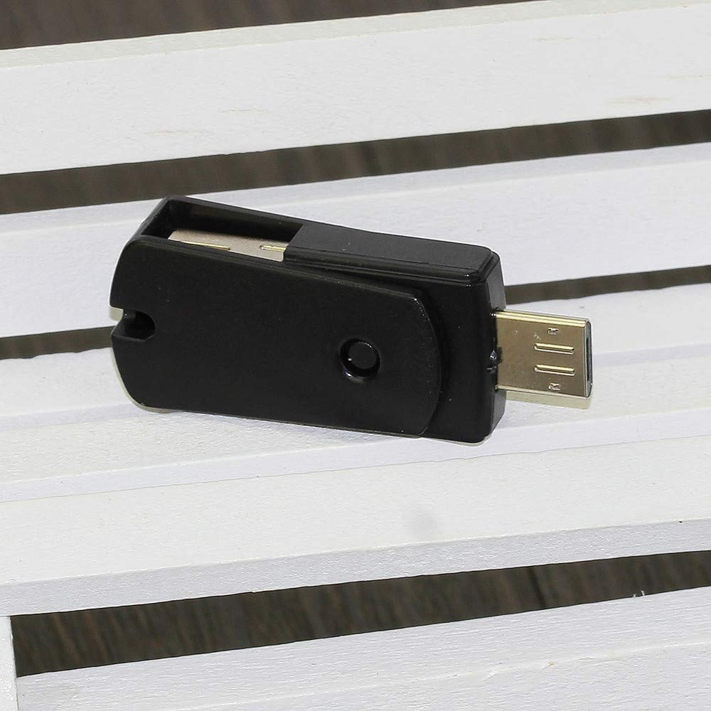 1 x OTG Card Reader OTG Micro USB to USB 2.0 Micro SD TF Card Reader Adapter For Android Phone (Black) by Ikevan_ (Image #3)