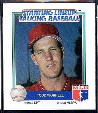 1988 Starting Lineup Talking Baseball 27 Roger Clemens Red