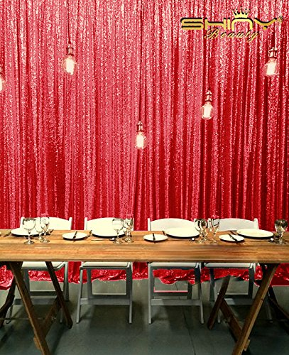 shinybeauty sequin backdrop red 7ftx9ftshimmer photography studio photo backgrounds sparkly party photobooth