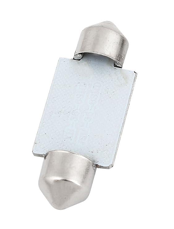 Amazon.com: eDealMax 10PCS 36mm 6-SMD 5050 LED Rojo Adorno de la bóveda de luz DE3423 6413 Interna: Automotive