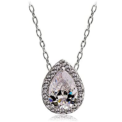 18ct Gold Finish Pendant on Chain with Swarovski Amethyst & CZ Crystals 4vsL0WaS