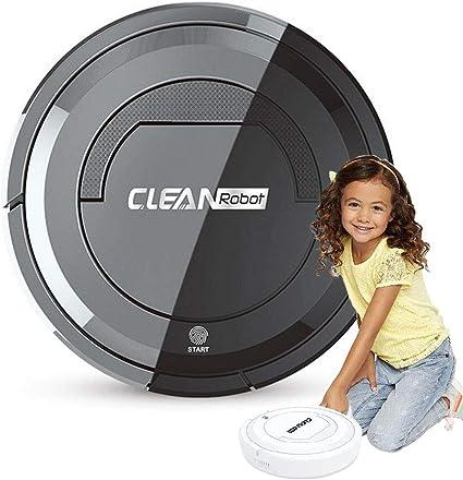 Aspirador de Juguete, Aspirador de Mini Robot, Juego de simulación Juguete de Limpieza del hogar para niños con Interruptor táctil, Herramientas de Limpieza de Pisos para niños: Amazon.es: Hogar