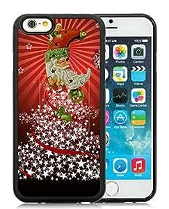 Popular Design iPhone 6 Case,Merry Christmas Black iPhone 6 4.7 Inch TPU Case 49 by icecream design