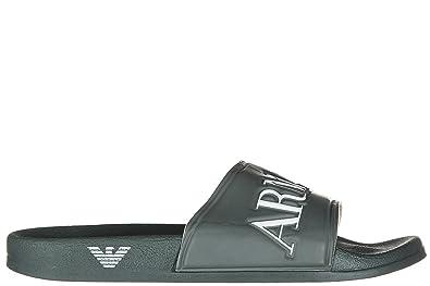 Sandales Jeans Homme Mules Armani En Chaussons Caoutchouc Vert R45jc3ALq