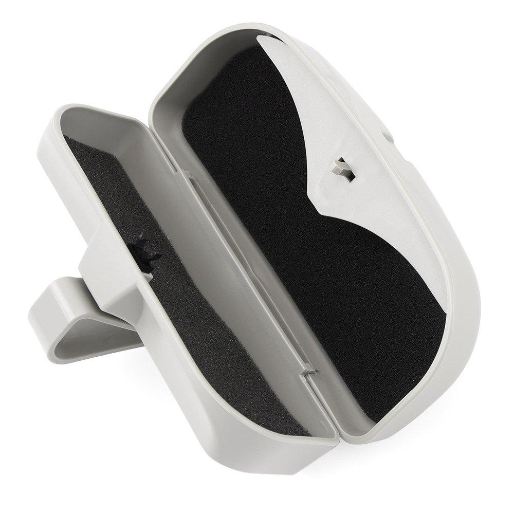 Brillenetui Organizer Box Sonnenbrillen Halter Aufbewahrungstaschen Grau Zubeh/ör