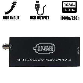 Amazon com: JOHAKU AHD to USB 3 0 Video Capture Card Full HD