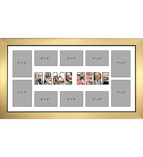 NAME Photo Frames Personalised Name Frames - Large Multi NAME Word ...