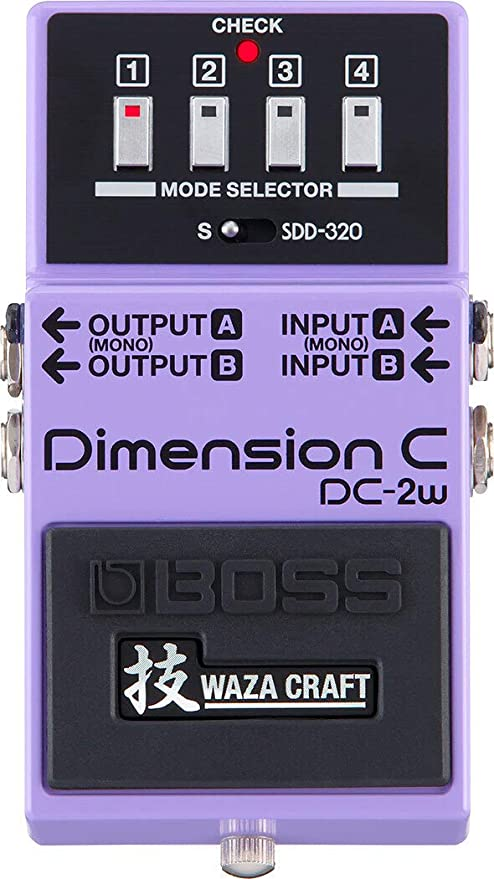 BOSS WAZA Craft Dimension C Pedal de guitarra (DC-2W): Amazon.es ...