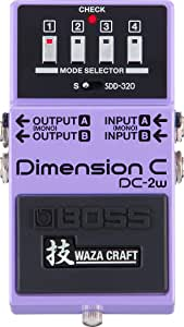 BOSS WAZA Craft Dimension C Guitar Pedal (DC-2W)