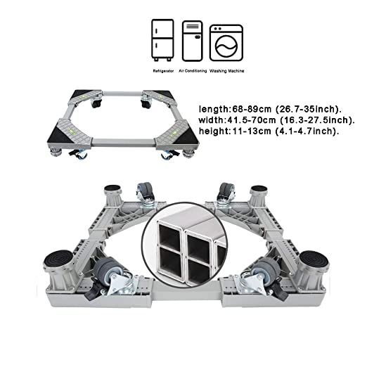 Base de la lavadora grande Marco de soporte de 8 pies fijos para ...
