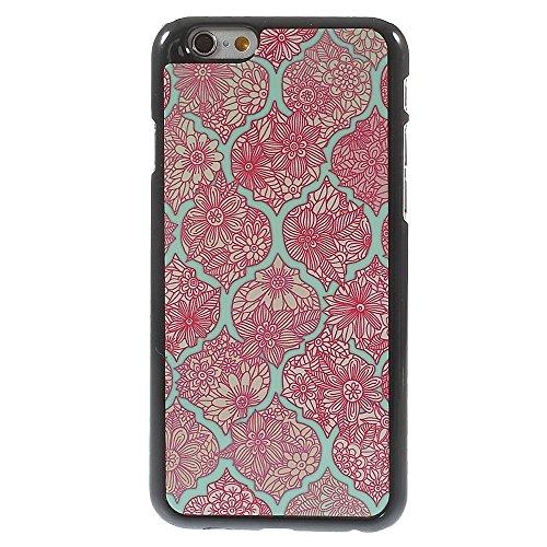 Apple iPhone 6/6S Étui de protection étui rigide en plastique Mandala Fleurs Multicolore decui Multicolore Plastique rigide Coque