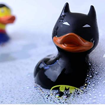 Great For Kids Bath Toy  & Take It To Swimming Pool Play Games Fun Novelty Rubber Ducks For Bathroom & Water DC Comics The Joker Bath Duck