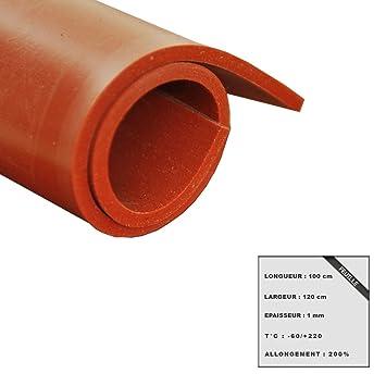 Dicke 0,5 mm Silikonfolie 100 x 120 cm