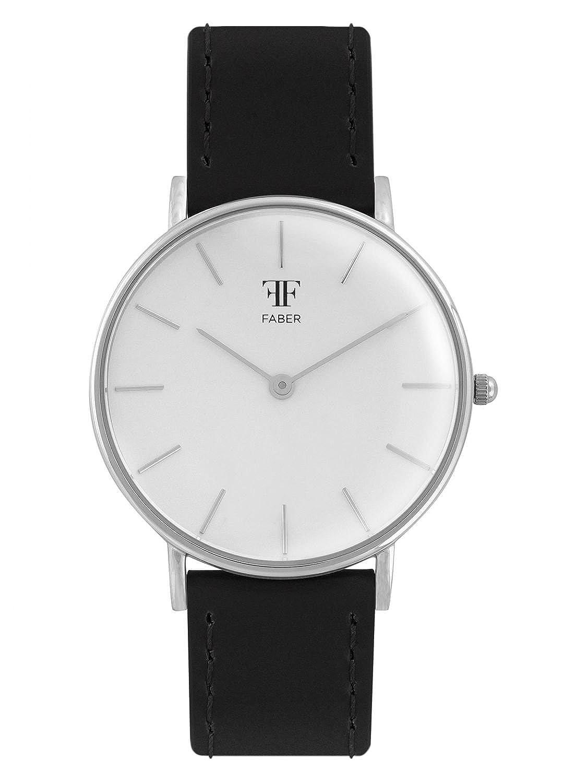 Faber Armbanduhr schwarz F907SL