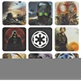 Star Wars Rogue One 3D Coasters, Card Multi-Colour, 2 x 10 x 10 cm