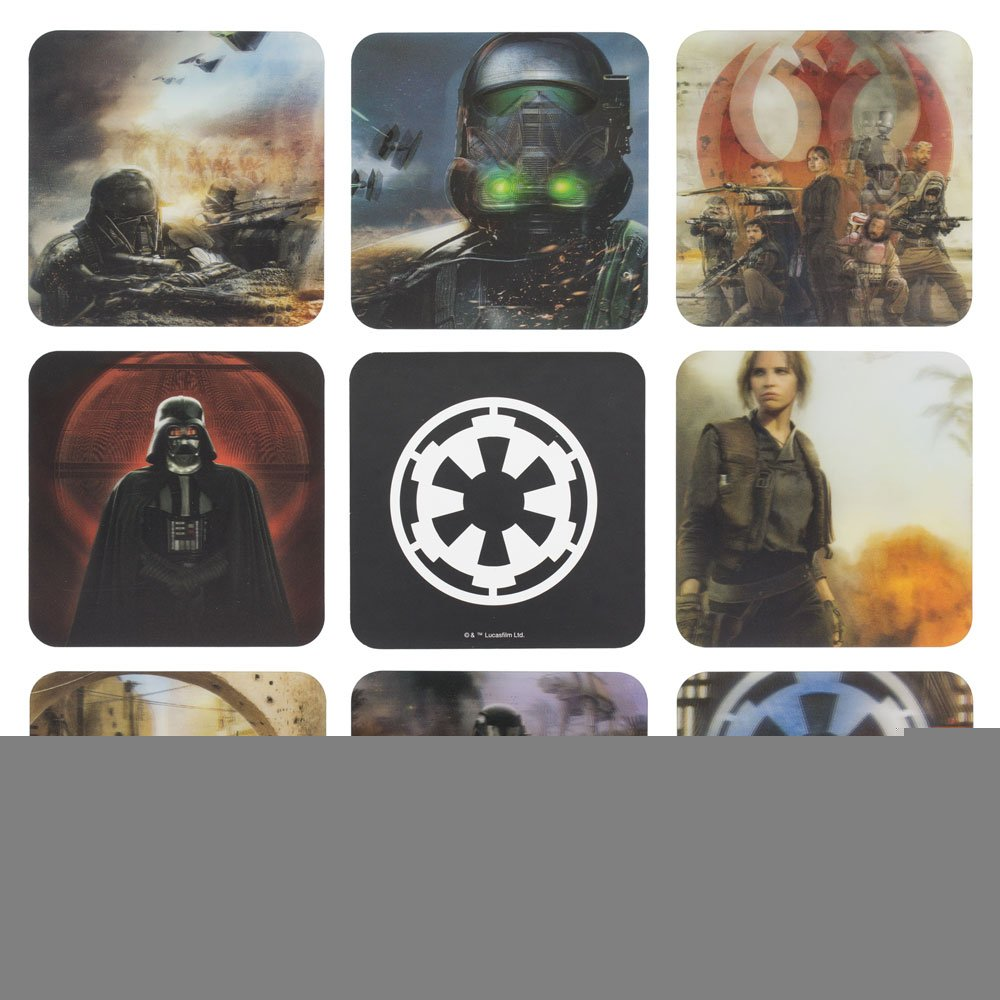 Official Star Wars Rogue One 3D Drinks Coasters - Boxed Gift PP3223R1