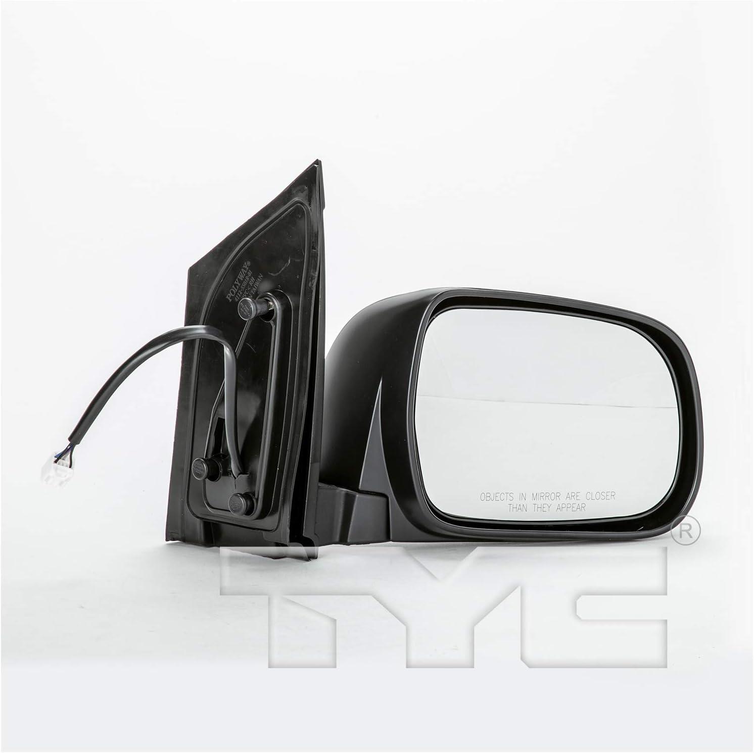 TYC 5390022 Black Exterior Mirror