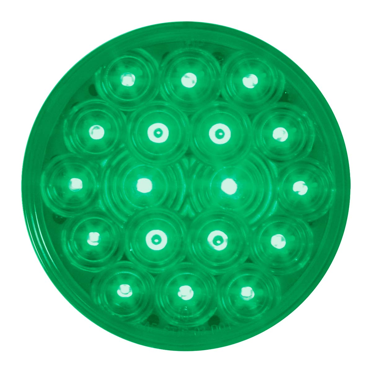 GG Grand General 76898 Sealed Light (4'' Fleet Green 18 LED (Interior)) by GG Grand General