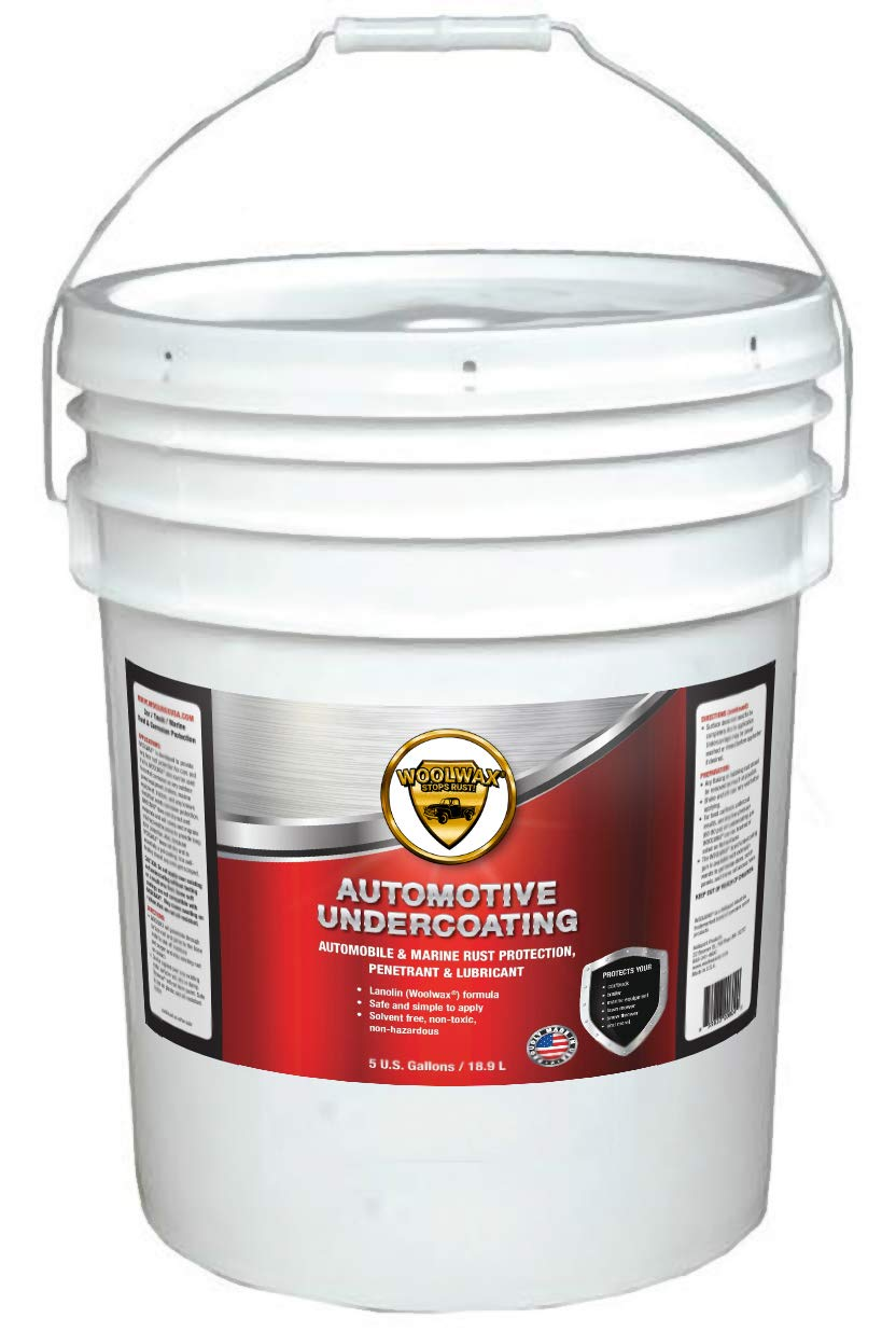 woolwax Auto/Truck Lanolin Undercoating 5 Gallon Pail. Black by woolwax (Image #1)