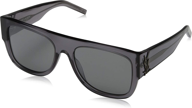 Saint Laurent SL M 13 //F 001 BLACK GREY Sunglasses