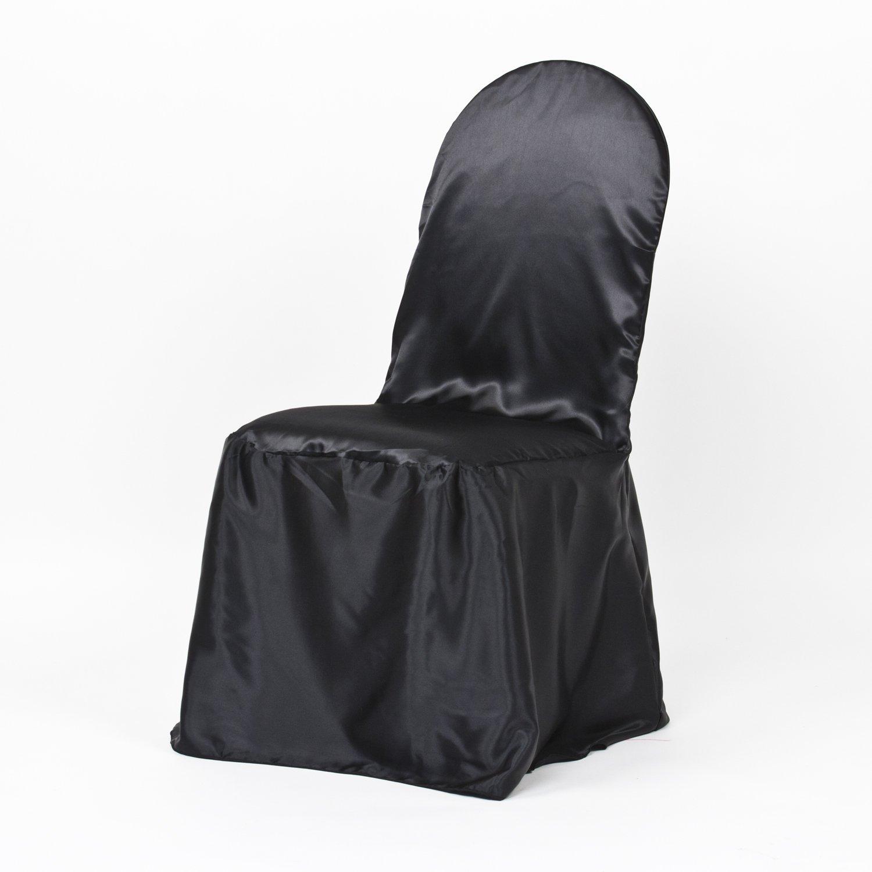 Amazon LinenTablecloth Satin Banquet Chair Cover Gold Home