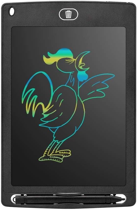 LCD手書きボードグラフィティインテリジェント描画色手書きボード子どもの描画ボード書込みボード液晶ライティングボード手書きボード ペン&タッチ マンガ・イラスト制作用モデル (Color : Pink, Size : 12inch)