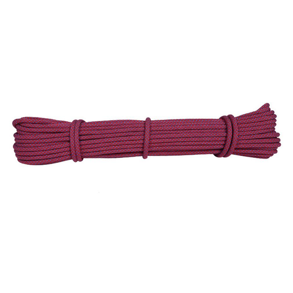 登場! ロープの屋外クライミングロープ、6ミリメートルの洋服ライン屋外のハンギングロープ乾燥キルトの風防ノンスリップ安全ロープ 20m (色 : B, B07K9LWMTH サイズ サイズ : 30m) B07K9LWMTH D 20m 20m|D, ジュウモンジマチ:c657f728 --- arianechie.dominiotemporario.com