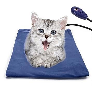 Bello Luna Alfombrillas de calefacción Alfombrillas para mascotas con cordón resistente a la masticación Cubierta suave