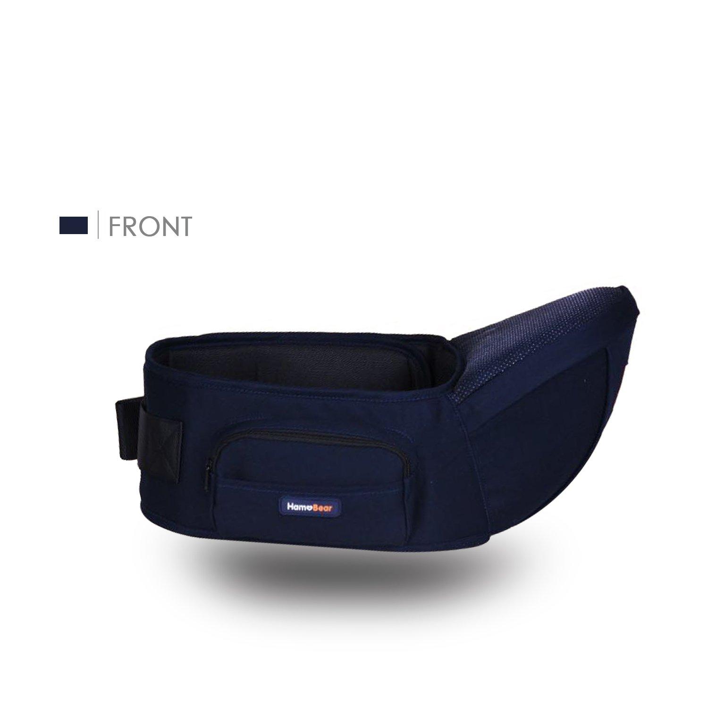 SONARIN Front Hipseat Baby Carrier, Babytrage, 100% Baumwolle, Atmungsaktiv, Aufwand sparen, All Season Common, Einheitsgröße,100% GARANTIE und KOSTENLOSE LIEFERUNG, Ideal Geschenk(Blau) Einheitsgröße