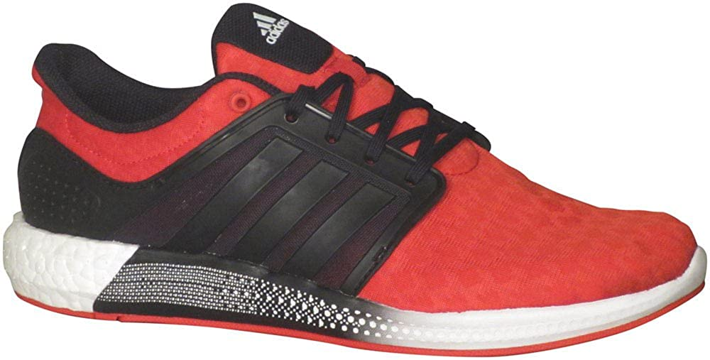 7e86d017e8167 Amazon.com  adidas Solar Boost RNR Shoes - Scarlet Red Core Black White -  Mens - 8.5  Clothing