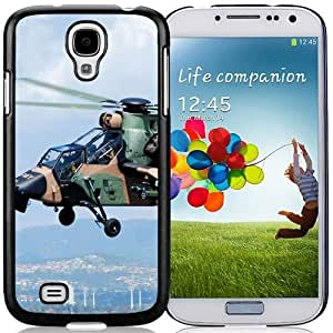 Galaxy S4 Phone cases, Ec Eurocopter Tiger Helicopter Black Samsung Galaxy S4 I9500 i337 M919 i545 r970 l720 cell phone case