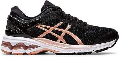 ASICS Gel-Kayano 26 - Zapatillas de running para mujer, Negro (Negro/Oro rosa), 42.5 EU: Amazon.es: Zapatos y complementos