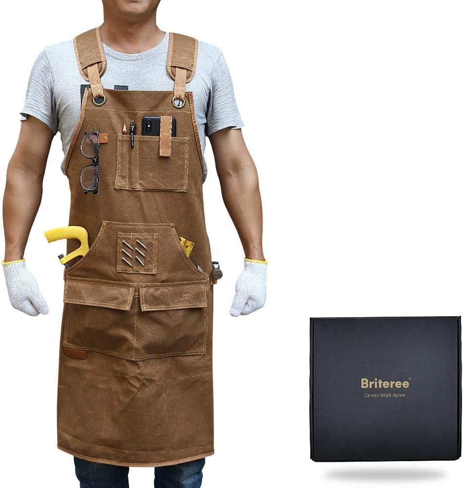 UC920 tinta unita uniforme da lavoro per catering o pulizie ottima qualit/à Grembiule da lavoro con tasca