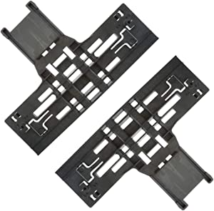 Siwdoy (Pack of 2) W10546503 Upper Rack Adjuster Compatible with Whirlpool Dishwasher WPW10546503 WPW10546503VP PS11756150
