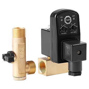 G1 / 2 DN15 Válvula de Drenaje Sincronizada Válvula Automática Separada para Compresor de Aire(