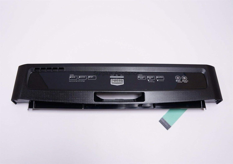 Fits OEM W10254846 Maytag Dishwasher Panel Control W10811155
