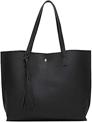 Image result for Dreubea Soft Leather Tote Bag