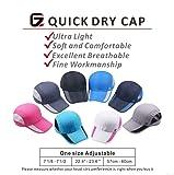 GADIEMKENSD Quick Dry Sports Hat Lightweight
