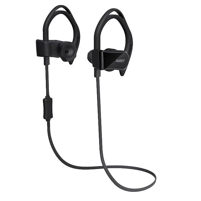 AUKEY Auriculares Bluetooth Deportivos Sonido Estéreo Medición del ...